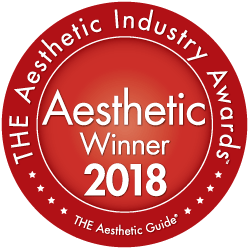 The Aesthetic Industry Awards winner 2018